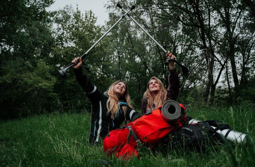 Ewa Harapin and Klaudia Knieja-Amputee Women