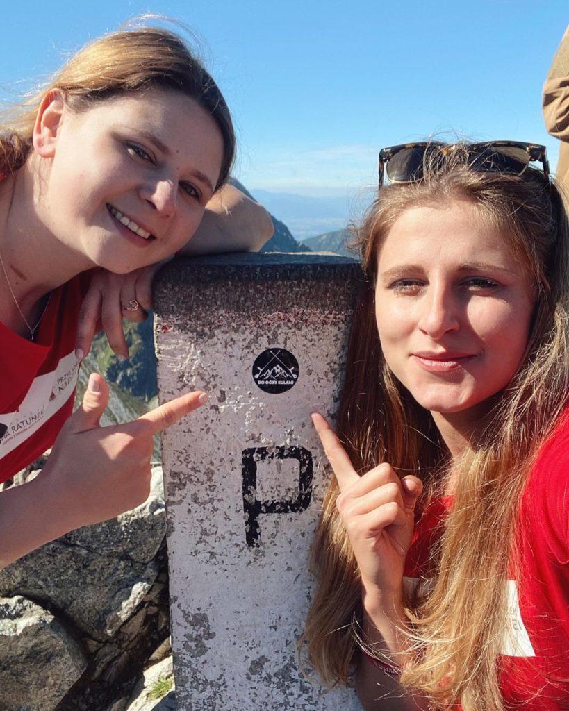 Ewa Harapin and Klaudia Knieja-Amputee Girls